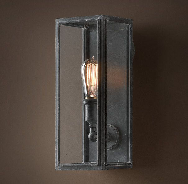 I Actually Did Like This One 199 More Olde Union Filament Narrow Sconce Clear Glass