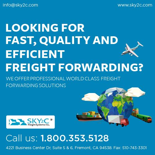 #Sky2c Freight System provides efficient, timely and cost-effective moving services for households and Personal Goods. #InternationalFreight