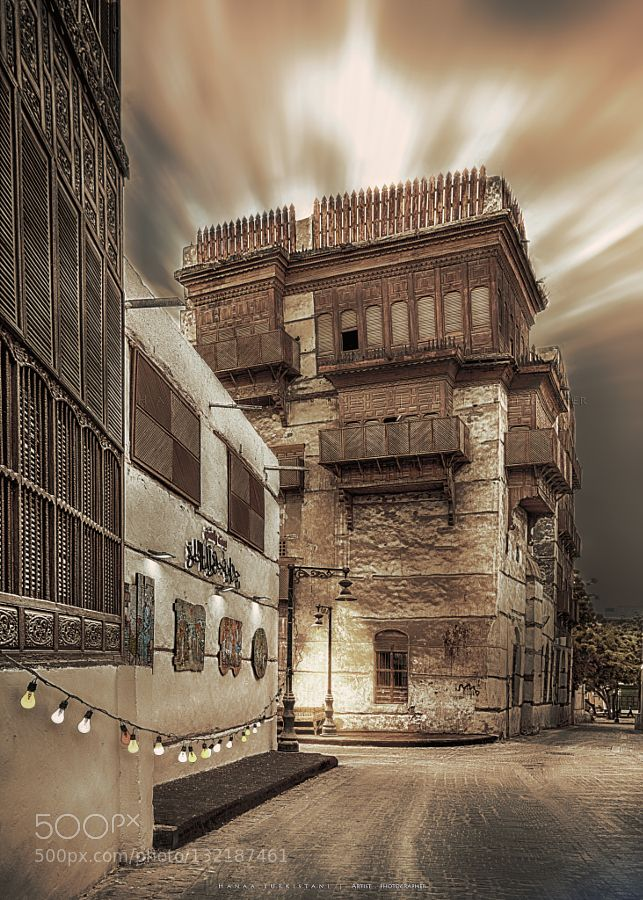 Traditional City Architecture Jeddah Building Art