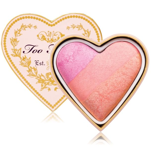 Too Faced Sweethearts Perfect Flush Blush is so freakin' cute!