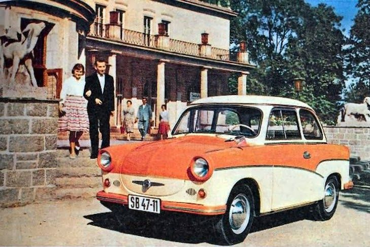 Few cars are subjected to the amount negative press as the Trabant, East Germany's infamous people's car. In the Western press stories abou...