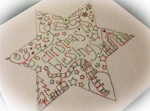 Christmas Blessings Star by Rosalie Quinlan