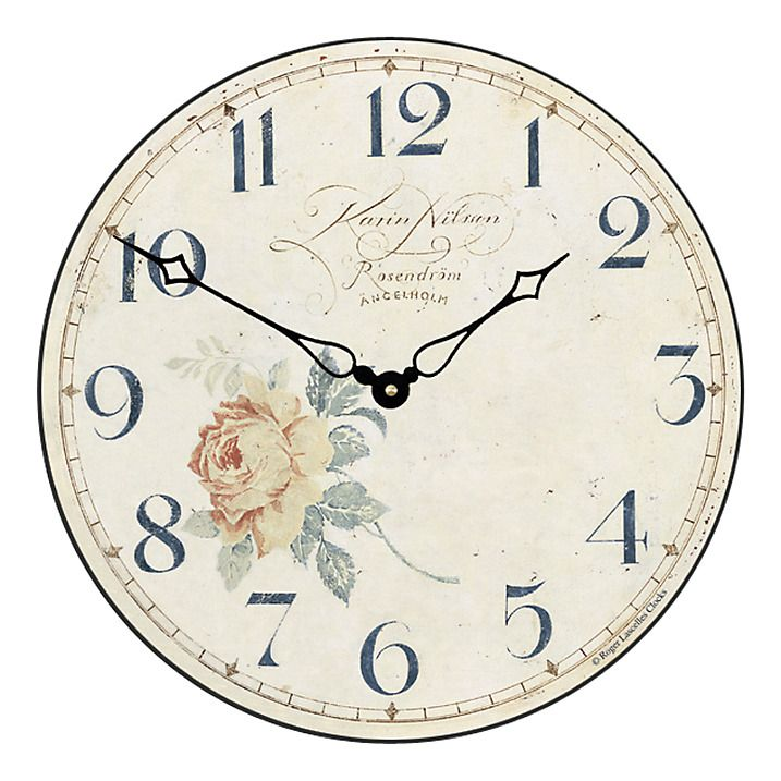 Buy Lascelles Angel Wall Clock Cream Dia36cm Online At Johnlewis