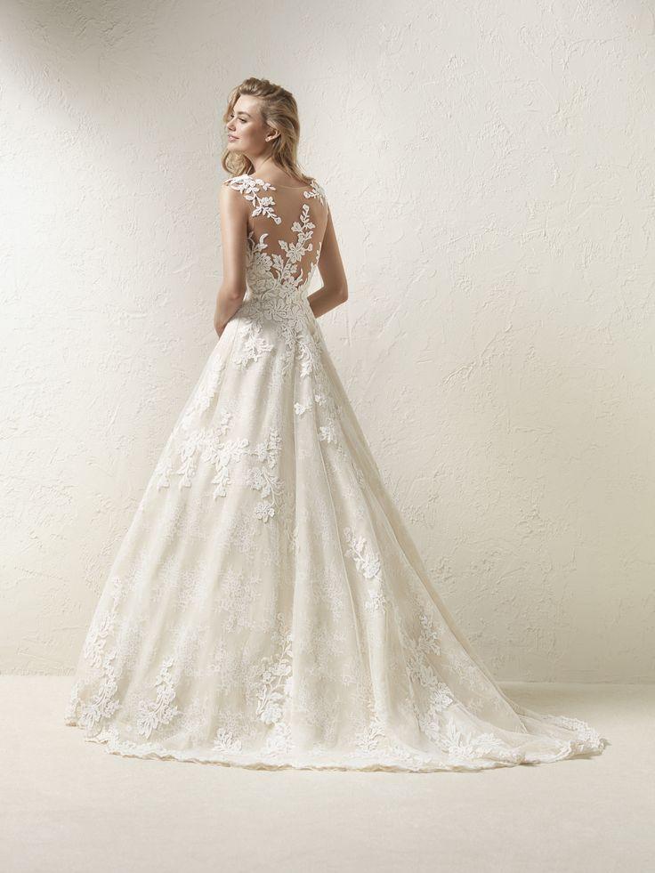 Vestido De Noiva Grande Saia Evas 233 Wedding Pinterest