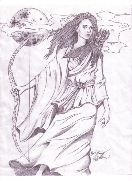 Artemis by WendyDoodles.deviantart.com on @deviantART