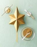 Martha's Glittered Star Tree Topper