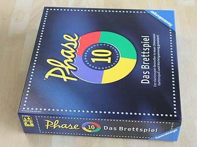 Phase 10 - Das Brettspiel - Spielbox