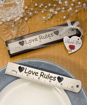 Great idea for teacher weddings!
