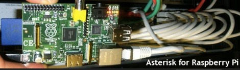 Asterisk for Raspberry Pi  a PBX(private branch exchange) system