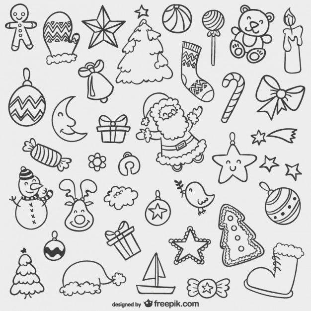 Новогодние черно-белые картинки для распечатки в лд