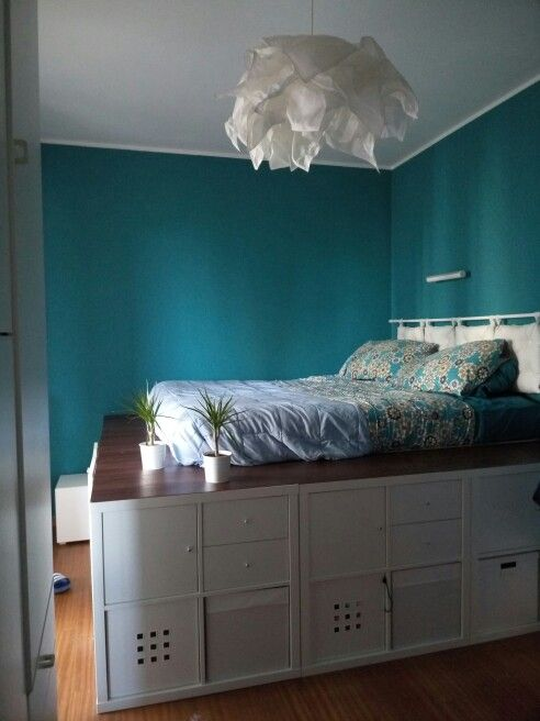 Oltre 1000 idee su letti contenitore su pinterest letto - Mobili letto ikea ...