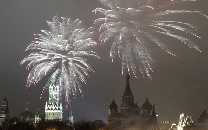 Sputnik Türkiye ///  Rusya'da sıkı güvenlik önlemleri altında yeni yıl ve Noel kutlamaları