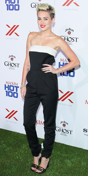 Miley Cyrus' 24 Best Looks Ever - 2013 Maxim Hot 100 Party from #InStyle