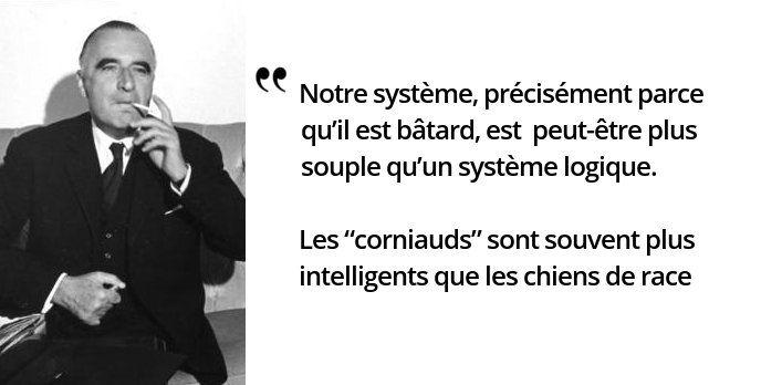 Témoignage de président, auparavant Premier ministre de De Gaulle durant six ans, et parole prophétique de la cohabitation  #histoire #citations #politique