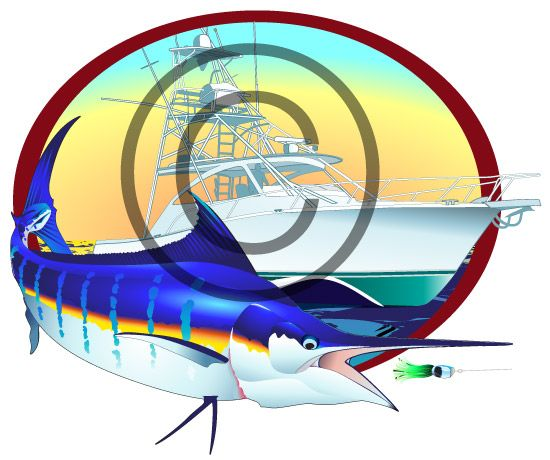 46 best images about custom sport fishing vector for Clever fish names