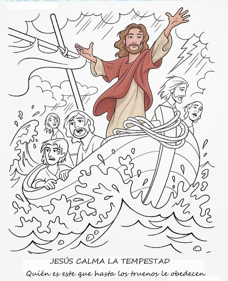 JESÚS CALMA LA TEMPESTAD | Me Aburre la Religión                                                                                                                                                                                 Más