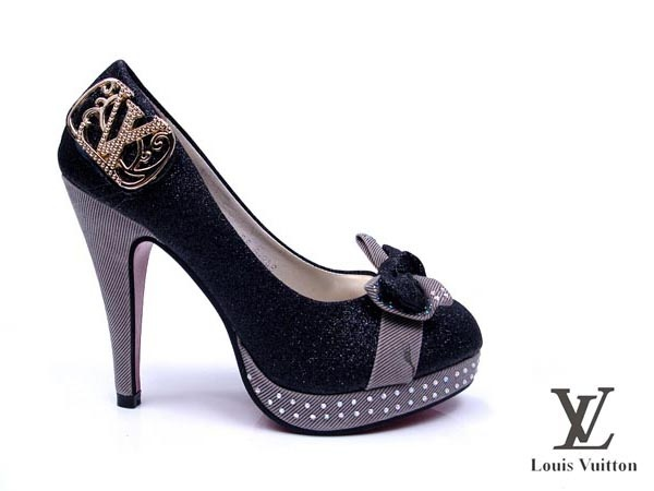 louis vuitton suede high heels shoes shoes
