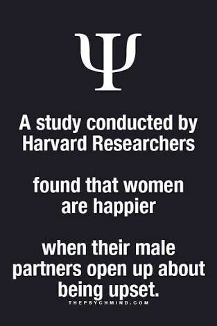 A study conducted hi Harvard researchers just study conducted a Harvard researchers town that women are happier...