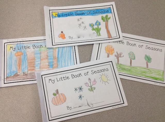 My Little Book of Seasons - Freebie