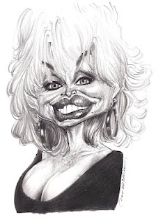Artist:Jan Op De Beeck   Caricature:Dolly Parton