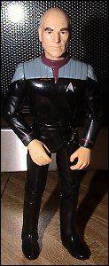 """Star Trek: First Contact 6"""" action figures - photo copyright 2007 Earl Green / theLogBook.com"""