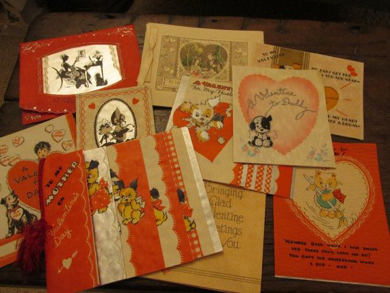 26 best vintage valentines day cards images on pinterest vintage american greetings valentines day cards m4hsunfo
