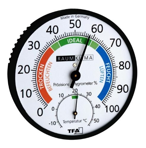Präzisions-Hygrometer Klimatest Black