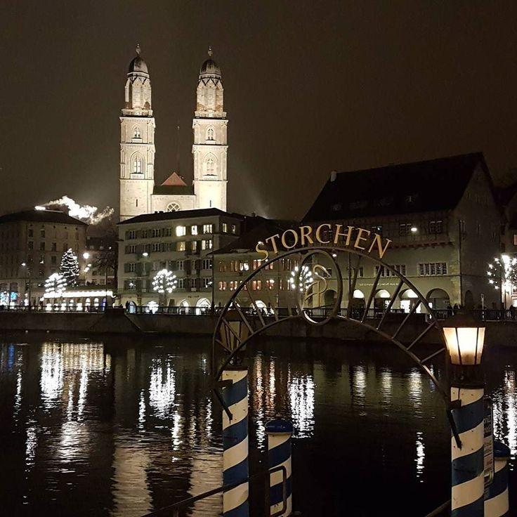 Zürich am Weihnachtstag. Finde den Fehler.