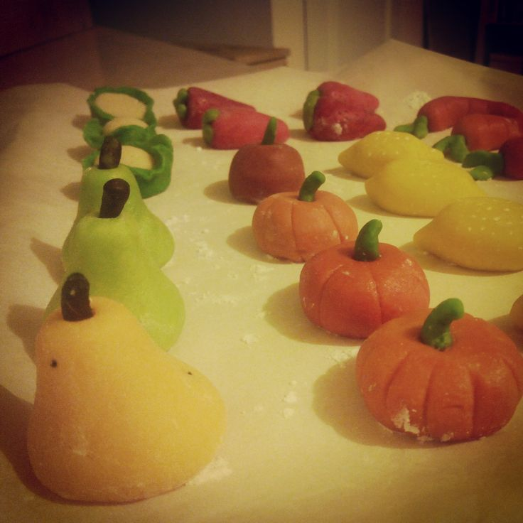 Frutas de mazapán Sant Donís