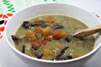 Tradiční česká tuřínačka /Traditional czech soup - Turnip soup/ Zdravé, nízkosacharidové, bezlepkové recepty. (Healthy, low carb, gluten free recipes.)