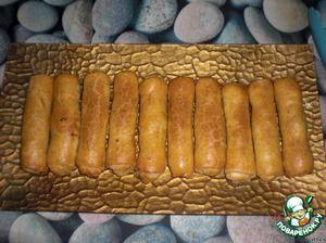 """""""Сигары""""-пирожки с капустой из тонкого, хрустящего теста"""