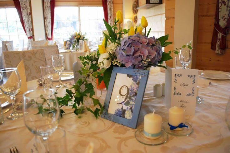 #blue #wedding #decoratoria