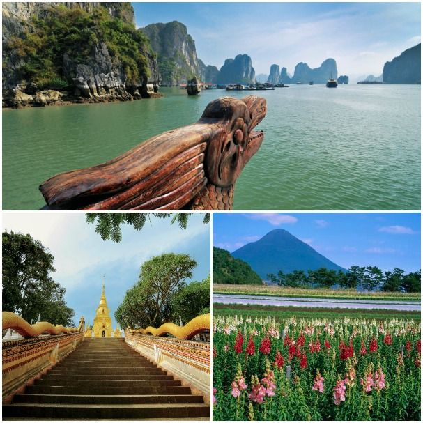 In Asia, guests who cruise on select voyages from October 2016 through April 2017 aboard ms Volendam receive two Journeys Ashore when calling at Kagoshima, Japan; Halong Bay, Vietnam; Jeju City, South Korea; or Nathon (Koh Samui), Thailand.