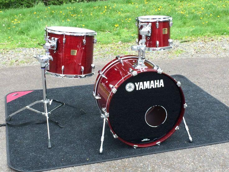 Yamaha Maple Custom Absolute 3 Piece Drum Set Japan Made