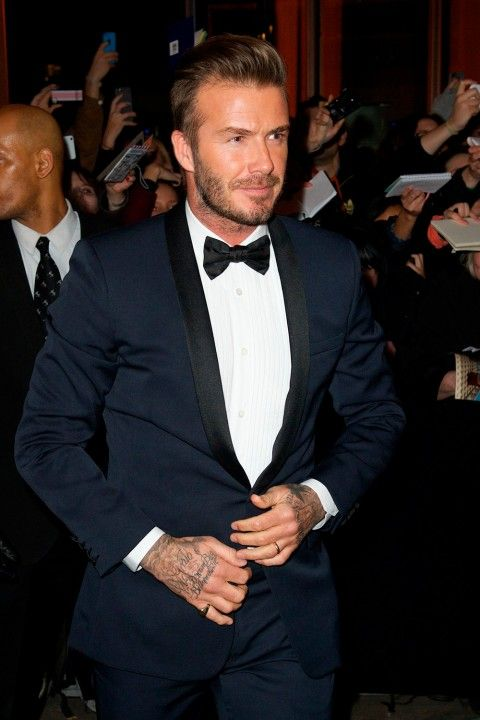 David Beckham Is Set To Follow In Victoria's Fashion Footsteps