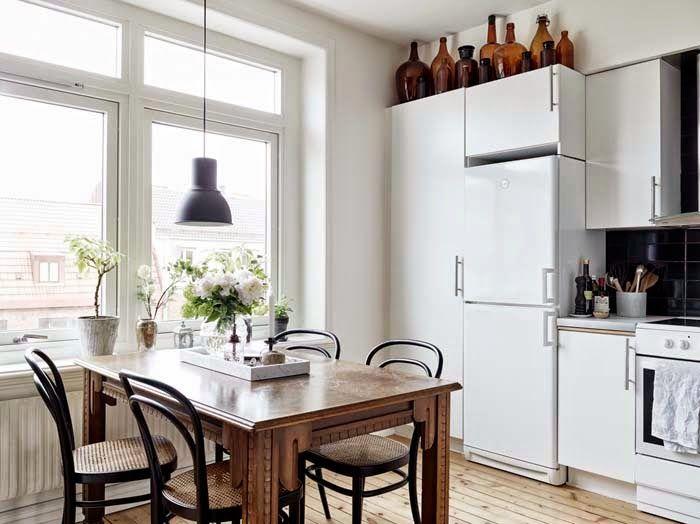 Valkoinen kohtaa ruskean #keittiö #netrautalikes