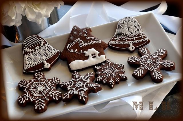 Моя маленькая пекарня :): мини-печенье для рождественской елки ..