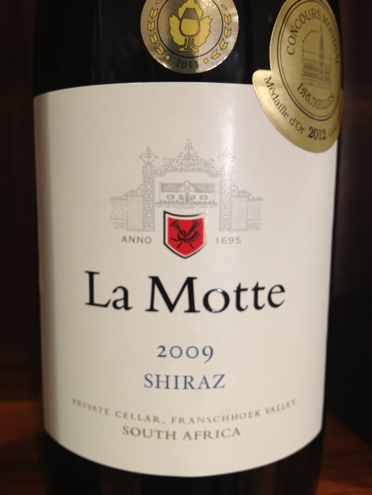 One of our best Shiraz