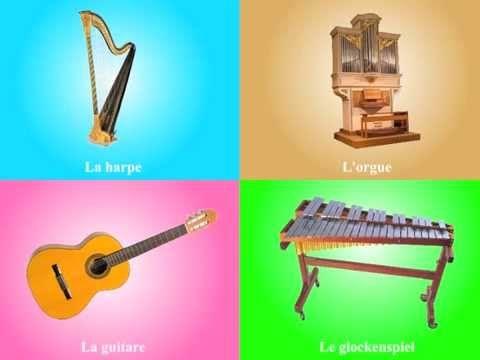 Loto sonore des instruments de musique - YouTube