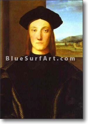 Portrait of Guidubaldo da Montefeltro - £124.99 : Canvas Art, Oil Painting Reproduction, Art Commission, Pop Art, Canvas Painting