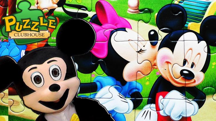 Mickey Mouse Clubhouse Puzzle Mickey Kids TV Disney Puzzle