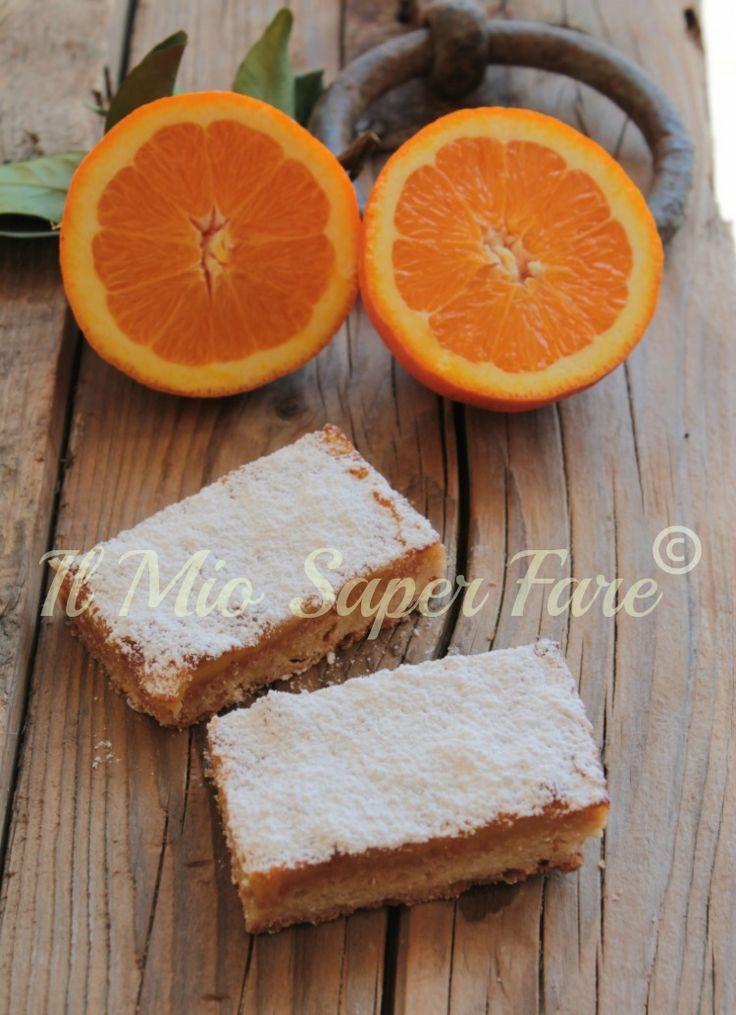 Tortine all'arancia con pasta frolla magica