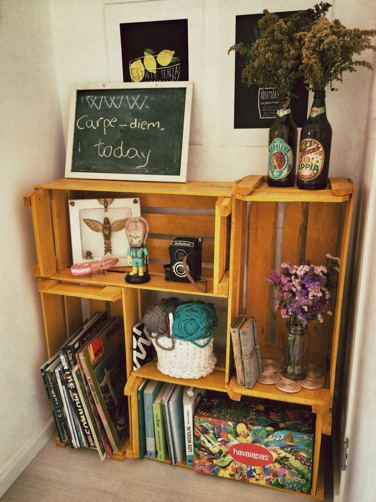 mejores imgenes de ideas con cajas de madera fruta en pinterest madera fruta y reciclaje