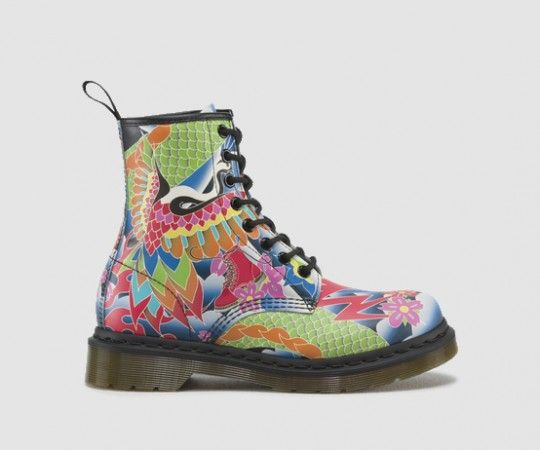 Dr Martens Canada | 1460 W - Womens - By Category - NEW ARRIVALS - MULTI - PSYCH TATTOO SOFTY T - R16538101