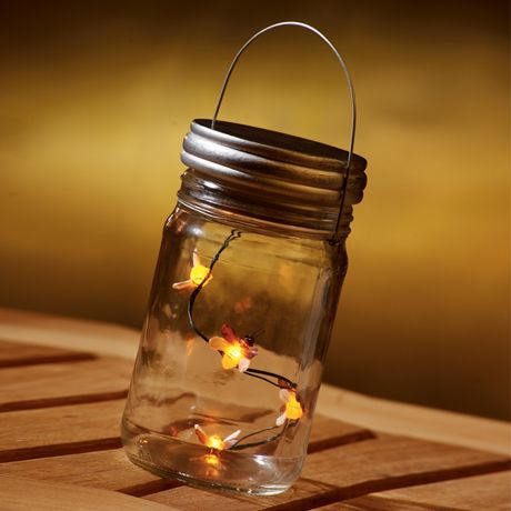 Lighted Fireflies In A Jar.  Remember, the Bayou Country surrounding  New Orleans, Louisiana.