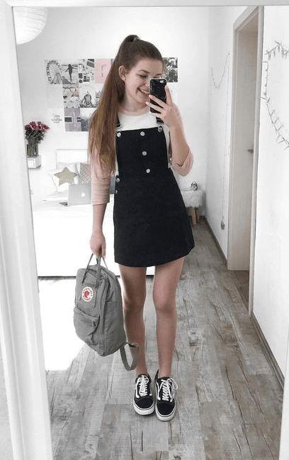 Teenage Fashion 2019 – 18 Fabelhafte Outfits für Teenagerinnen – Teen Girls outfit ideas