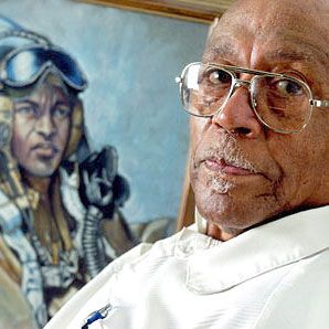 August 10, 2007 Henry Cabot Lodge Bohler, former Tuskegee Airman, died.