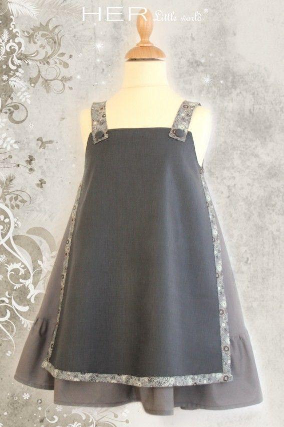 Children's sewing pattern : Dress Studieuse