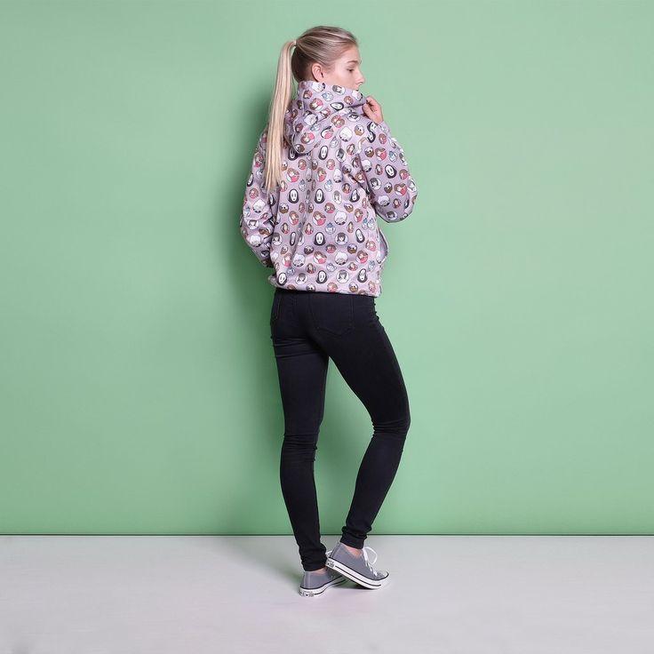 Spirited Away Pullover, Spirited Away Print, Kawaii, Cute Japanese Clothing, Japanese Fashion, Cute Online Store, Harajuku Fashion, Kawaii Cute, Cute Clothes for Girls, Teen Clothing, Cute Pullover, Cute Sweatshirts, Cute Sweater, Cute Print Clothing