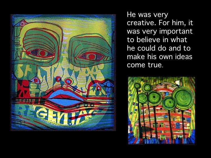 Hundertwasser slide show